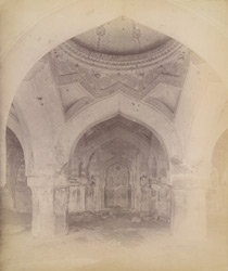 Interior of Ain-ul-Mulk's Tomb, Bijapur